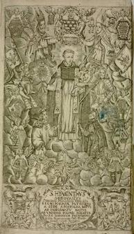 S. Hyacinthus Odrovasius principalis, hierarchicus, universalis Regni Poloniae patronus [...] calamo exaratus A.D. 1687