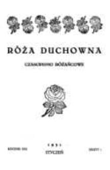 Róża Duchowna - R. 30 (1931) n. 1-12