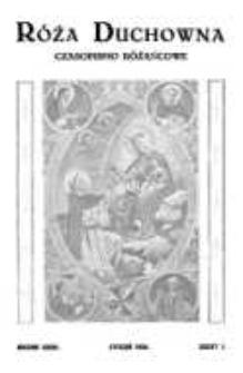 Róża Duchowna - R. 33 (1934) n. 1-12