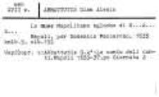 Katalog druków obcych XVII w. Biblioteki Kolegium Filozoficzno-Teologicznego oo. Dominikanów w Krakowie