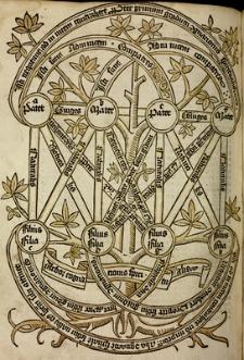 Super arboribus consanguinitatis, affinitatis et cognationis spiritualis