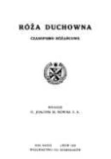 Róża Duchowna - R. 37 (1938) n. 1-12