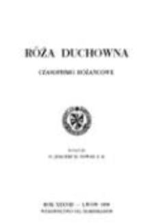 Róża Duchowna - R. 38 (1939) n. 1-9