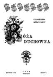 Róża Duchowna - R. 29 (1930) n. 1-12
