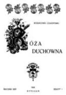 Róża Duchowna - R. 25 (1926) n. 1-12