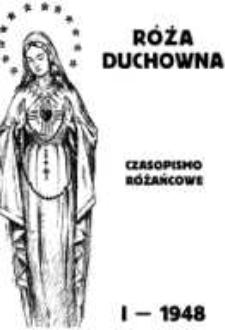 Róża Duchowna - R. 50 (1948) n. 1-12