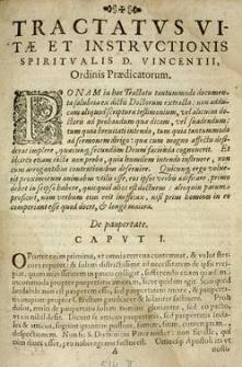 Tractatus vitae et instructionis spiritualis