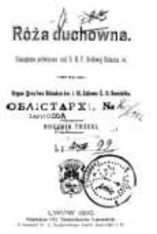 Róża Duchowna - R. 3 (1900) n. 1-12