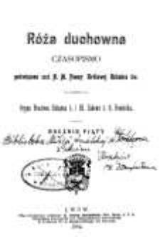 Róża Duchowna - R. 5 (1902) n. 1-12