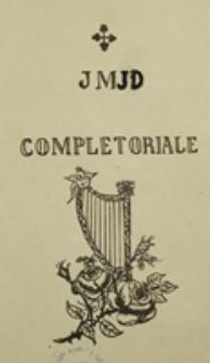 JMJD Completoriale