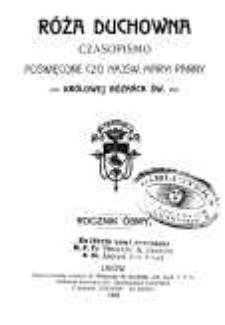 Róża Duchowna - R. 8 (1905) n. 1-12