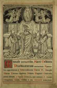 Missale juxta ritum Sacri Ordinis Praedicatorum