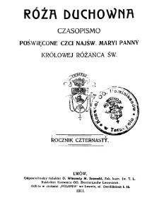 Róża Duchowna - R. 14 (1911) n. 1-12