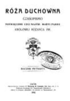 Róża Duchowna - R. 15 (1912) n. 1-12
