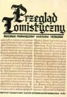 Przegląd Tomistyczny : rocznik poświęcony historii teologii. T. 2 (1986)