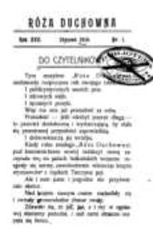 Róża Duchowna - R. 17 (1914) n. 1-9