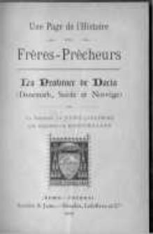 Une page de l'histoire des Frères-Prêcheurs : la Province de Dacia (Danemark, Suède et Norvège)