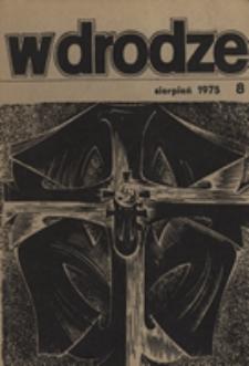 W drodze - R.3 (1975) nr 8