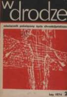 W drodze - R.2 (1974) nr 2