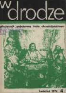 W drodze - R.2 (1974) nr 4