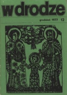 W drodze - R.5 (1977) nr 12