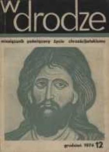W drodze - R.2 (1974) nr 12