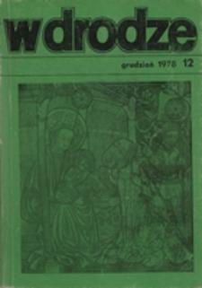 W drodze - R.6 (1978) nr 12