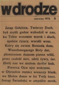 W drodze - R.4 (1976) nr 6
