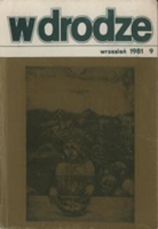 W drodze - R.9 (1981) nr 9