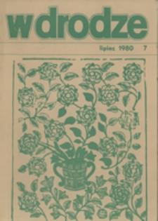 W drodze - R.8 (1980) nr 7