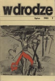 W drodze - R.9 (1981) nr 7