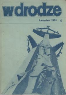 W drodze - R.9 (1981) nr 4