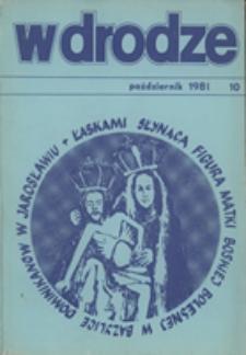 W drodze - R.9 (1981) nr 10