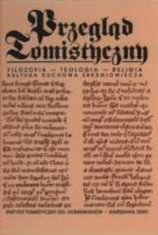 Przegląd Tomistyczny : rocznik poświęcony historii teologii. T. 8 (2000)