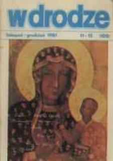 W drodze - R.9 (1981) nr 11-12