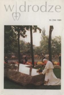 W drodze - R.17 (1989) nr 10