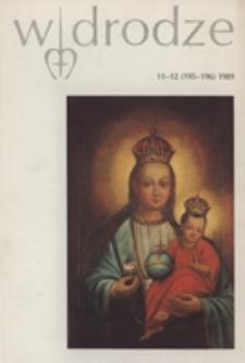 W drodze - R.17 (1989) nr 11-12