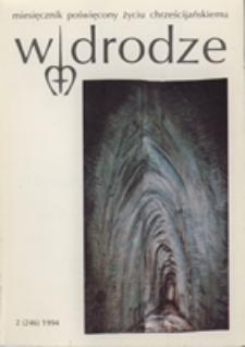 W drodze - R. 22 (1994) nr 2