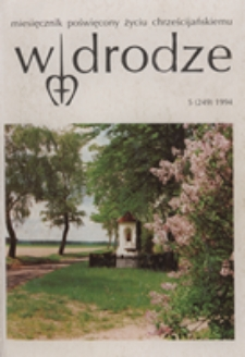 W drodze - R. 22 (1994) nr 5