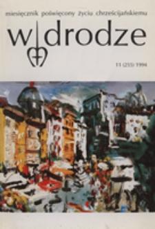 W drodze - R. 22 (1994) nr 11