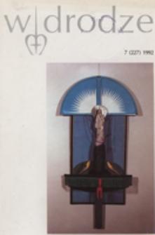 W drodze - R. 20 (1992) nr 7