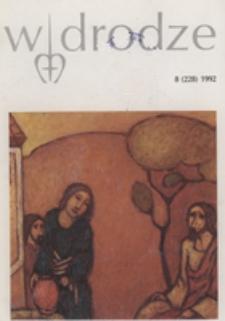 W drodze - R. 20 (1992) nr 8