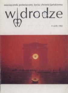W drodze - R. 20 (1992) nr 9