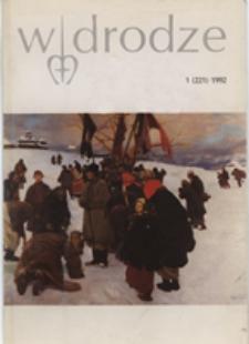 W drodze - R. 20 (1992) nr 1