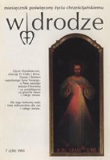 W drodze - R.21 (1993) nr 7