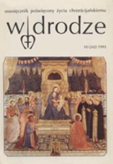 W drodze - R.21 (1993) nr 10