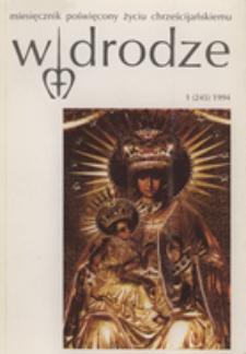 W drodze - R.22 (1994) nr 1