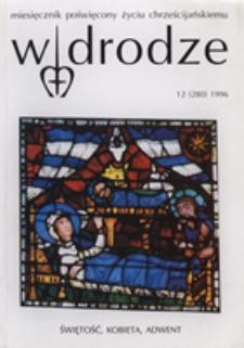 W drodze - R.24 (1996) nr 12