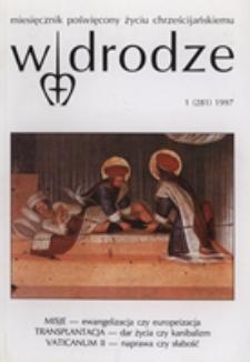 W drodze - R.25 (1997) nr 1