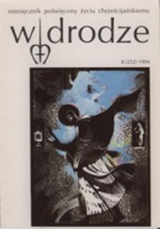 W drodze - R. 22 (1994) nr 8